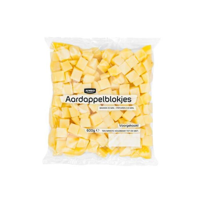 Jumbo Aardappelblokjes 600 g (600g)