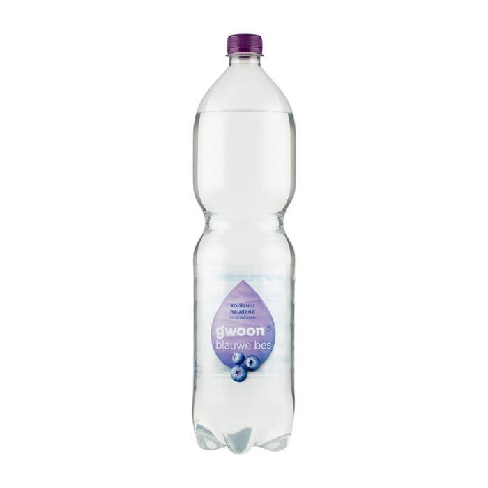 g'woon Mineraalwater koolzuurhoudend bosbes (1.5L)