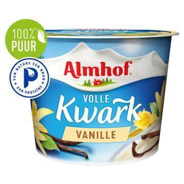 Volle kwark vanille (Stuk, 500g)