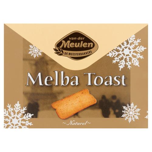 Van der Meulen Melba Toast Naturel 100 g (100g)
