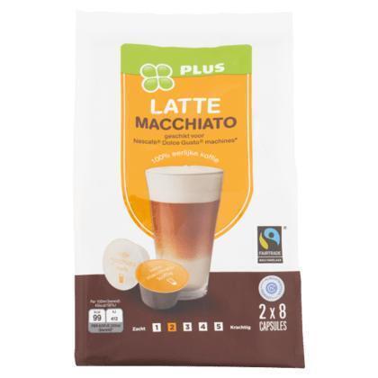 Cups latte macchiato (8 × 168g)