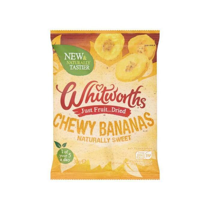 Whitworths Stukjes Banaan 30 g (30g)