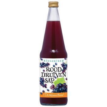 Druivensap rood (glas, 0.7L)