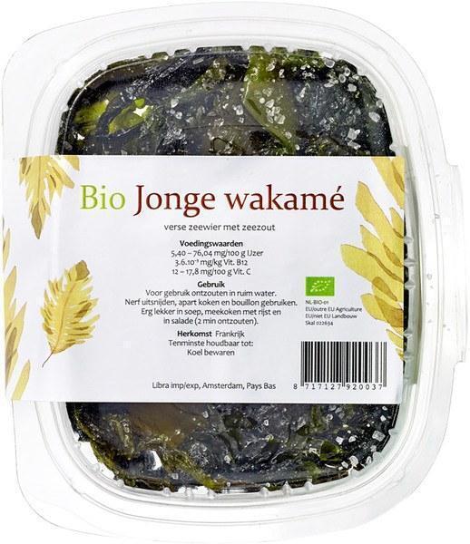 Bio Jonge Wakamé (bak, 100g)