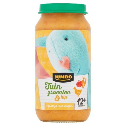 Jumbo Tuin Groenten & Kip 12+ Maanden 250 g (250g)