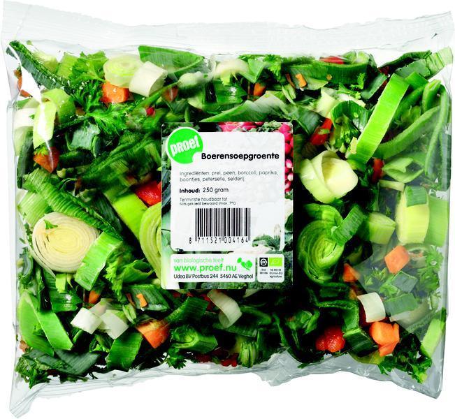 boerensoepgroente (zak, 250g)