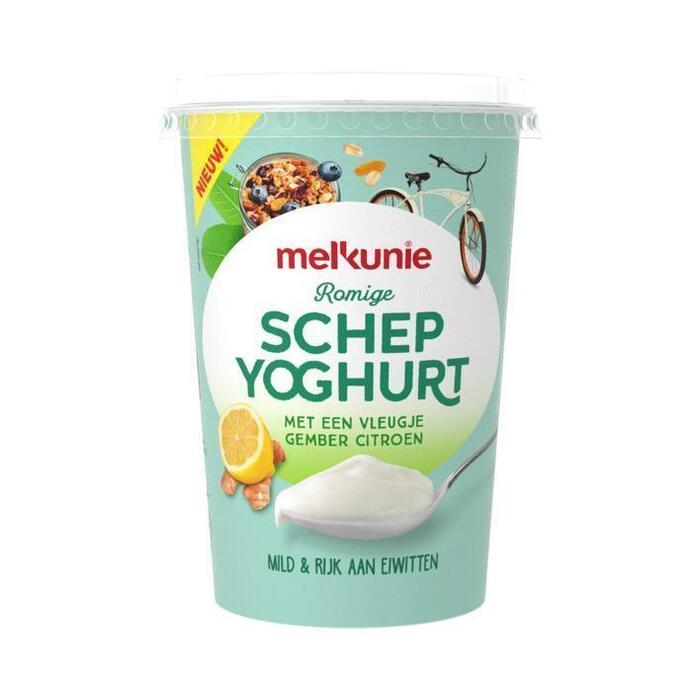 Melkunie Schepyoghurt Gember-Citroen 500gr (500g)