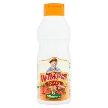 Oliehoorn Wimpiesaus met Zoetpittige Cherry Peppers 450ml (45cl)