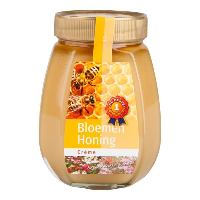 Bloemenhoning crème (500g)