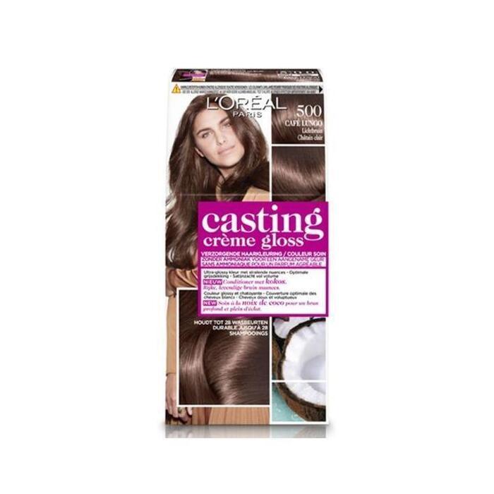 L'Oréal Casting crème gloss lichtbruin 500 (160ml)