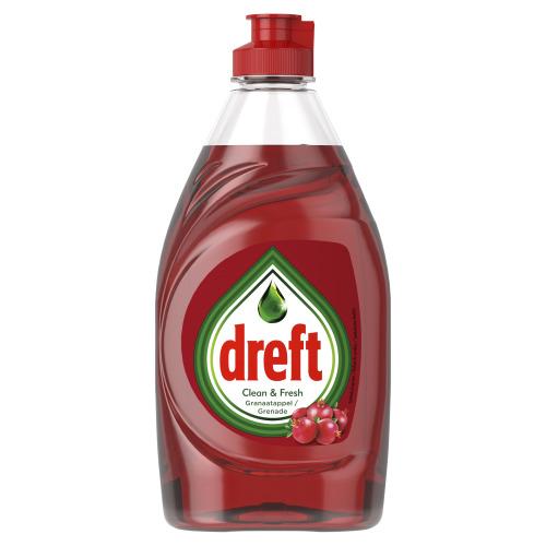 Dreft Clean & Fresh Afwasmiddel Granaatappel 383ml (38.3cl)
