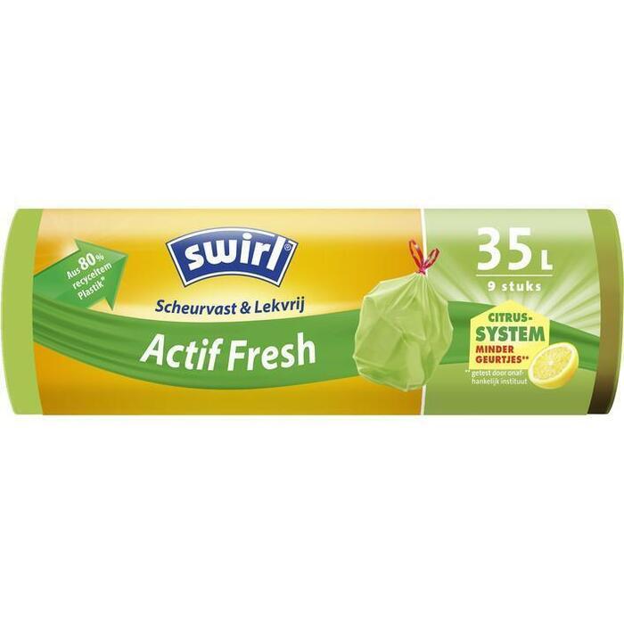Swirl Pedaalemmerzak anti-geur 35 liter