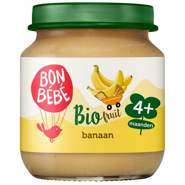 Bonbébé Fruithapje banaan 4+  (125g)