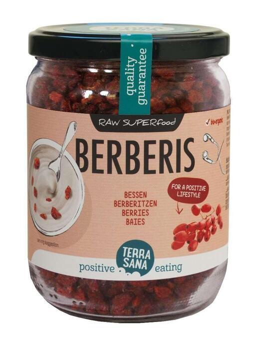 RAW Berberisbessen (in glas) TerraSana 140g (140g)
