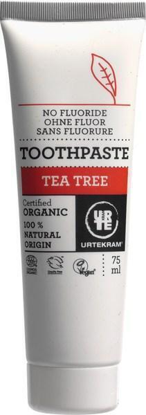 Tea tree tandpasta (zonder fluoride) (75ml)