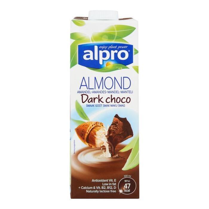 Almond Dark Choco (pak, 1L)