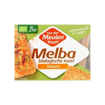 Van der Meulen Melba Biologische Toast Sesam 100 g (100g)