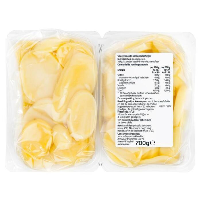 Jumbo Aardappelschijfjes Duopak 2 x 350 g (2 × 350g)