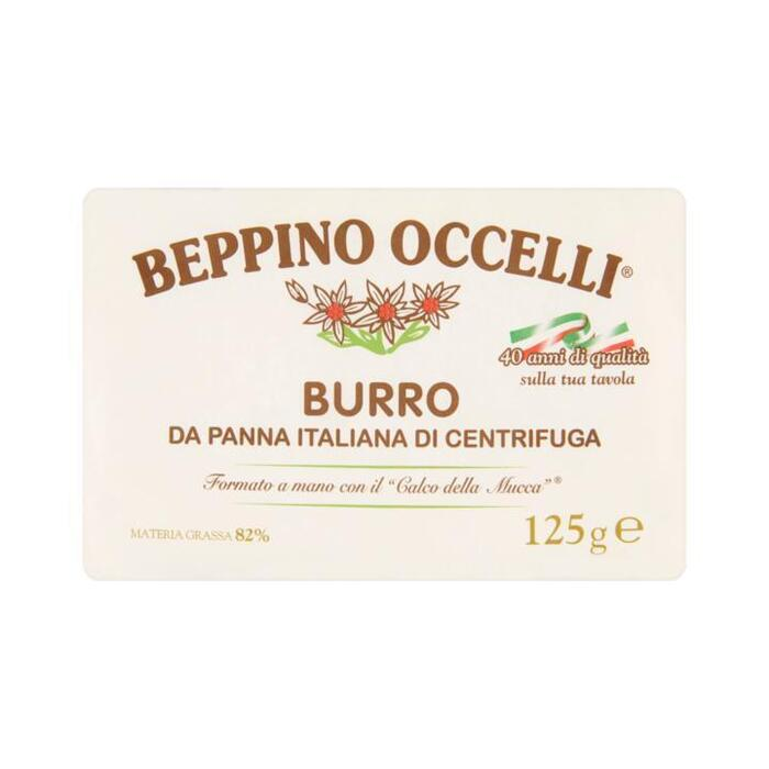 Beppino Occelli Boter Ongezouten 125 g (125g)