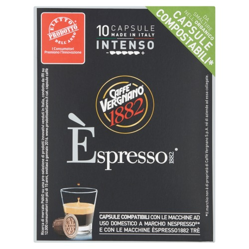 Koffie capsules Intenso 10 stuks (10 × 50g)