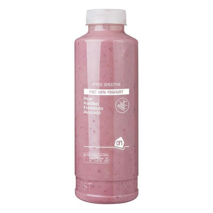 AH Yoghurt smoothie peer aardbei framb avoc (0.5L)