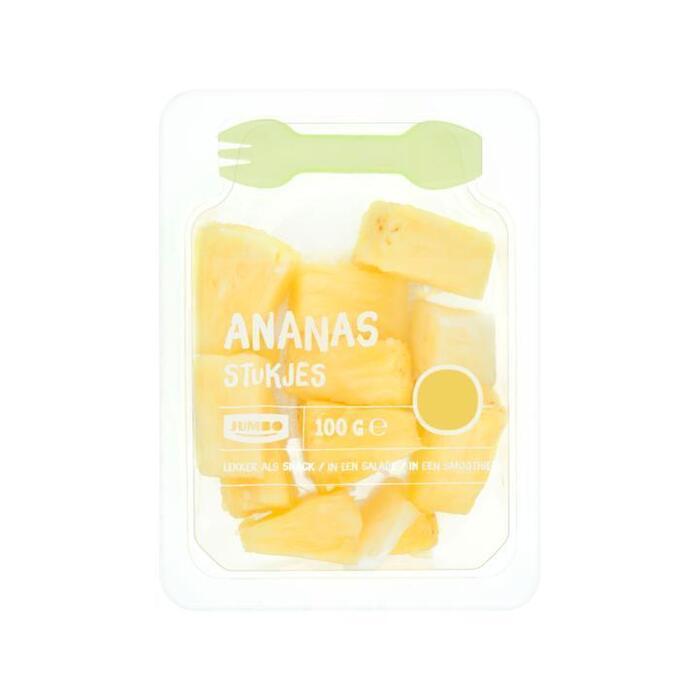 Jumbo Ananas Stukjes 100g (100g)