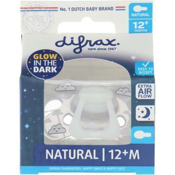 Difrax Glow in the dark fopspeen 12+ (10g)