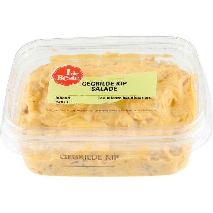 Salade gegrilde kip (150g)