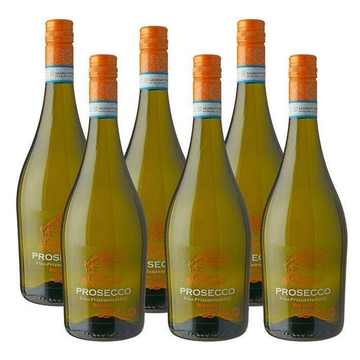 Prosecco Vino Frizzante D.O.C. (fles, 6 × 0.75L)