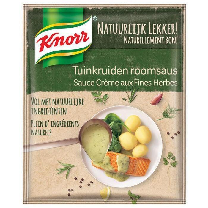 Knorr Natuurlijk lekker tuinkruiden roomsaus (37g)