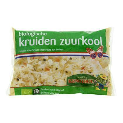 Biologische Kruiden Zuurkool (zak, 520g)