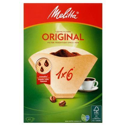 Melitta Koffiefilters Original 1 x 6 40 Stuks