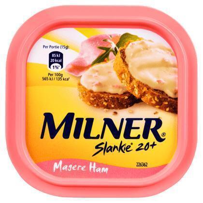 Slankie smeerkaas magere ham (kuipje, 150g)