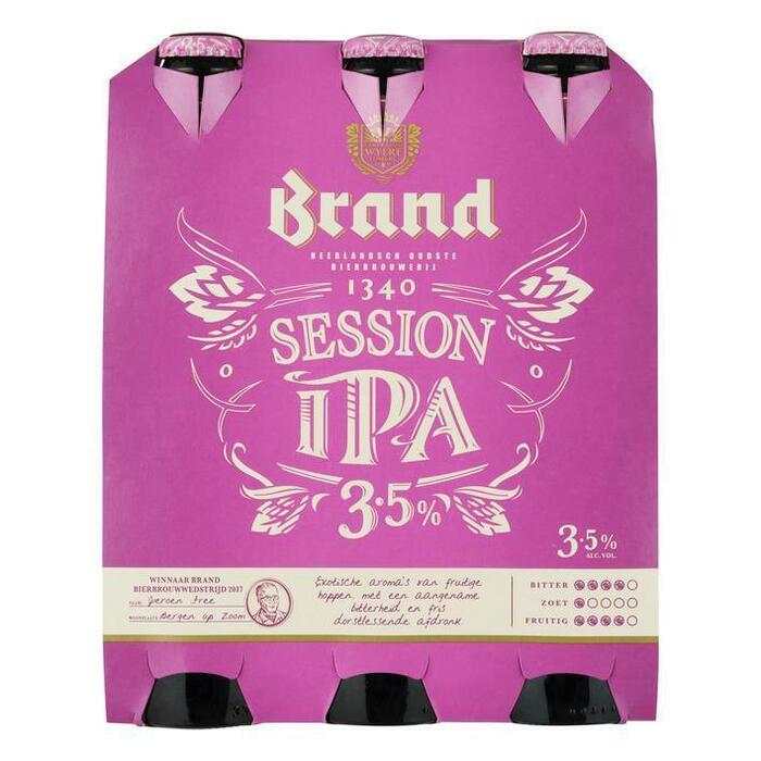 Session IPA Bier Fles 30 cl (rol, 6 × 30cl)