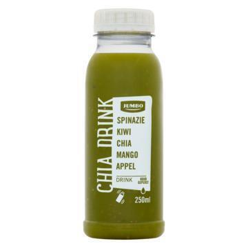 Jumbo Chia Drink Spinazie Kiwi Chia Mango Appel 250 ml (250ml)