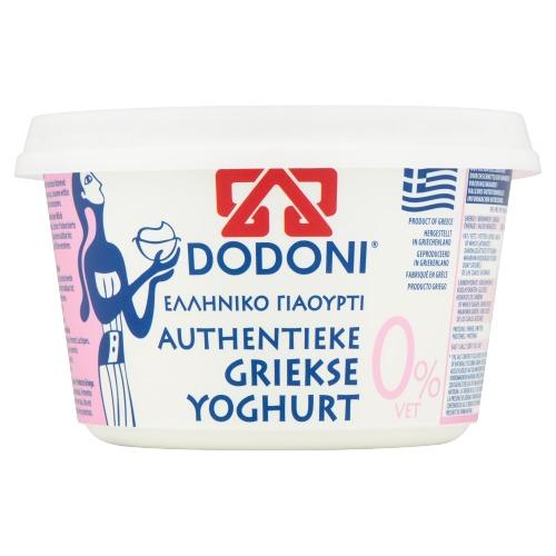 Dodoni Authentieke Griekse Yoghurt 0% Vet 500 g (500g)