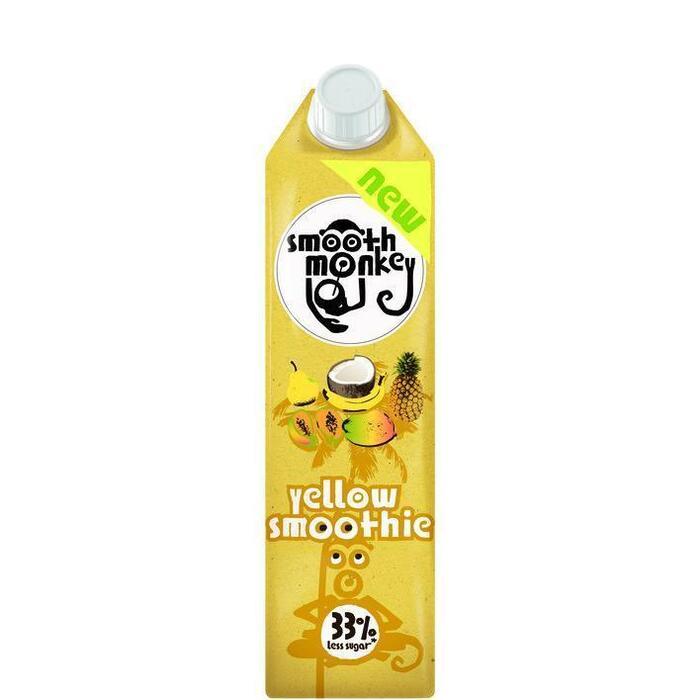 Smooth monkey Yellow smoothie (1L)