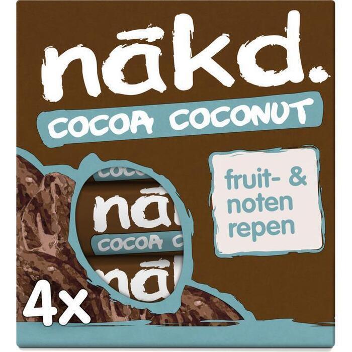 Nakd Cocoa coconut (4 × 140g)
