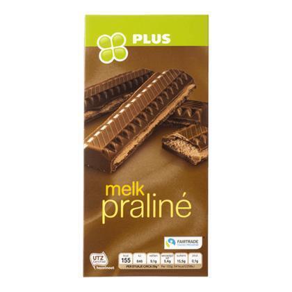 Tablet chocolade praliné melk (tablt, 200g)