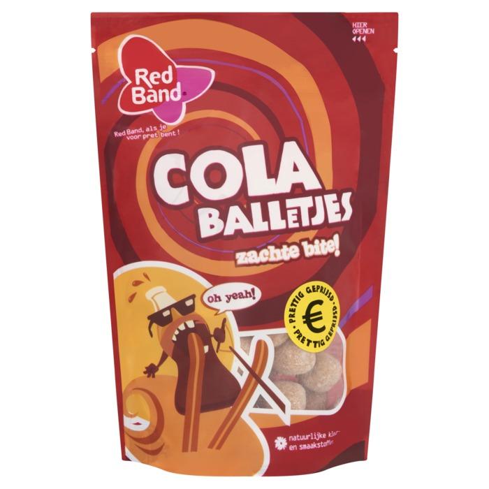 Red Band Cola balletjes (155g)