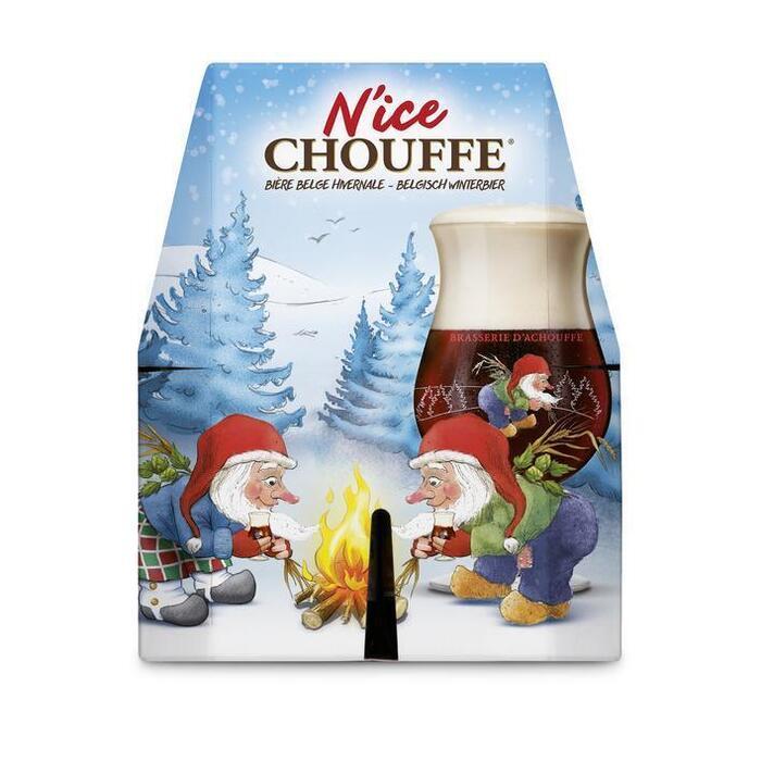 N'ice Chouffe 4 x 33 cl (rol, 4 × 33cl)
