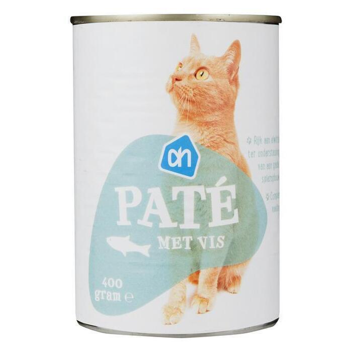 AH Paté vis (voor de kat) (400g)