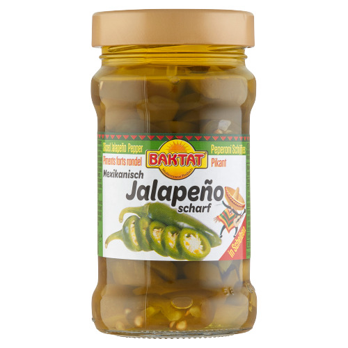 Baktat Jalapenopepers pikant (33cl)