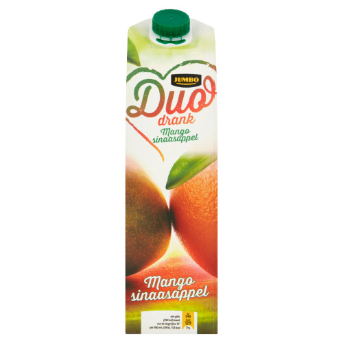 Jumbo Duo Drank Mango Sinaasappel 1 L (1L)