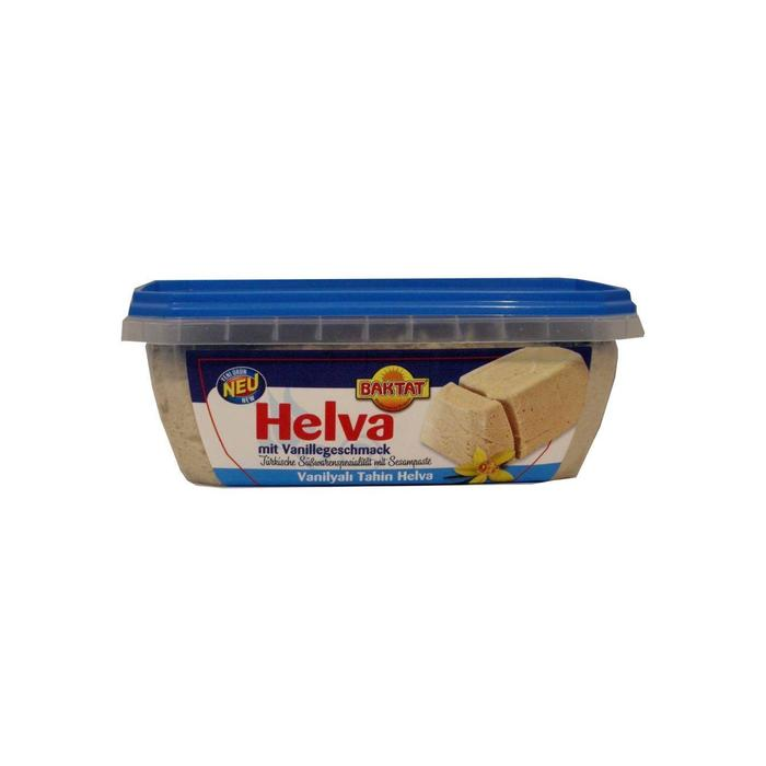 Baktat Helva met vanillesmaak (350g)