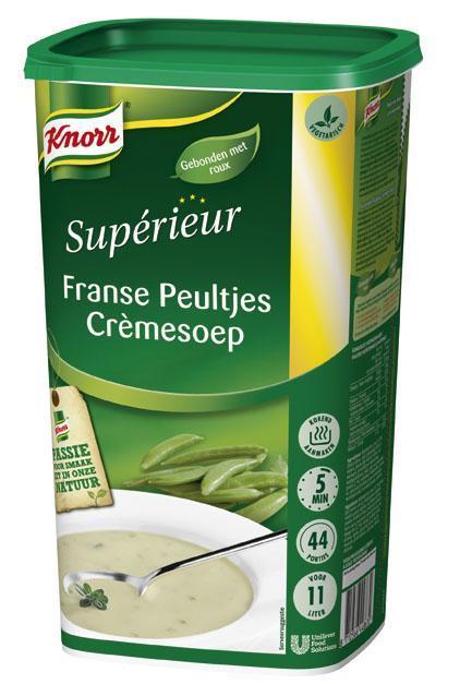 Knorr Supérieur Franse Peultjes Crèmesoep (6 × 1.1kg)