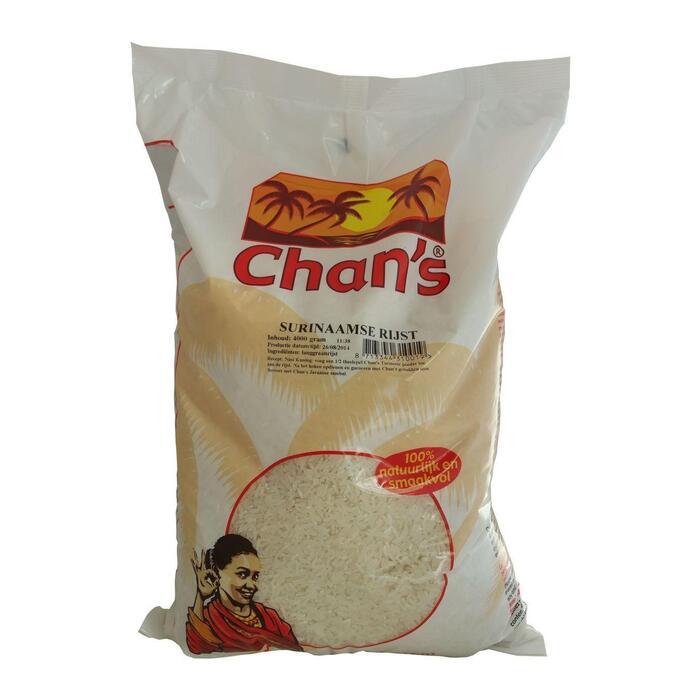 Chan's Surinaamse rijst (4kg)