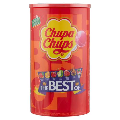 CHUPA CHUPS  Best Of Lollies 1200 GR Emmer (100 × 1.2kg)