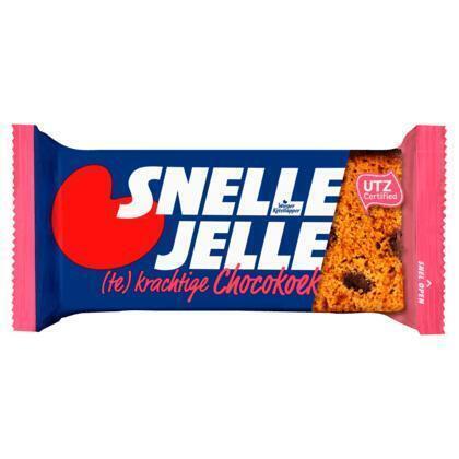 Snelle Jelle kruidkoek chocolade (4 × 53.5g)