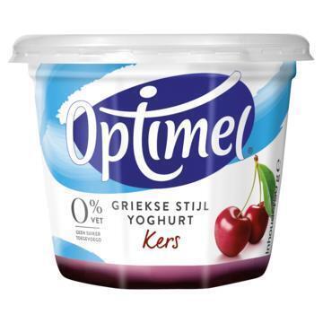 Yoghurt griekse stijl kers (Stuk, 450g)